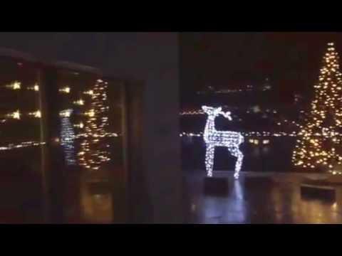 Weihnachtsbeleuchtung Zum Stecken.Apesa Weihnachtsbeleuchtung Ch Terrasse