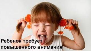 видео Ребенок все время требует внимания (Дмитрий Смирнов)