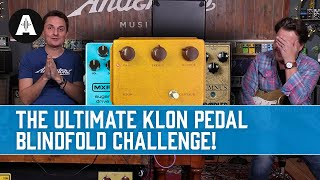 The Ultimate Klon Pedal Blindfold Challenge - 10 Pedals - £39 - £5000 Shootout!