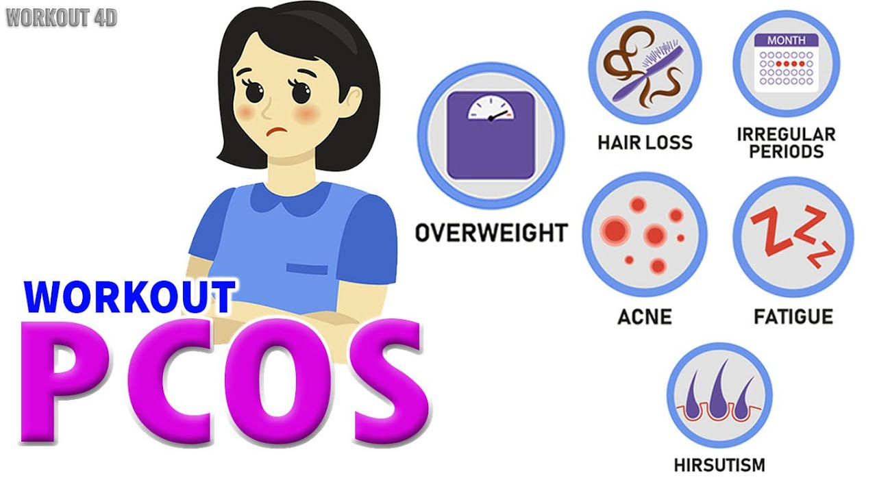 PCOS WORKOUT | LOSE WEIGHT WITH PCOS AND ELIMINATE OTHER SYMPTOMS