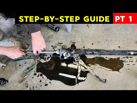 Acura TL 3.2l V6 Rack And Pinion Replacement PART I