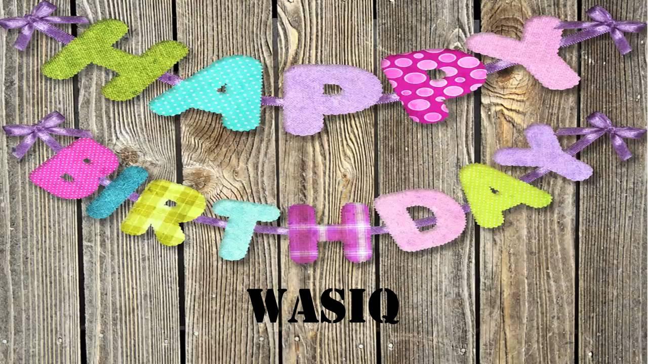 wasiq name