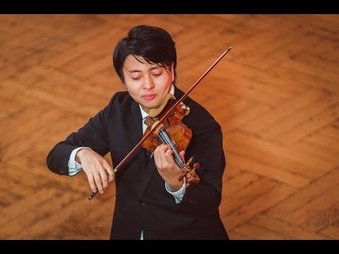 Seiji Okamoto (Japan) - Stage 2 - International H. Wieniawski Violin Competition STEREO