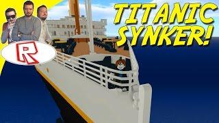 TITANIC SYNKER! - Roblox Titanic Dansk
