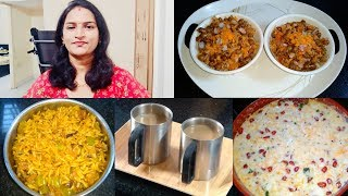 Indian Mom House Wife Tuesday Routine Vlog || Dondakaya Rice || Ginger Tea || Curd Rice