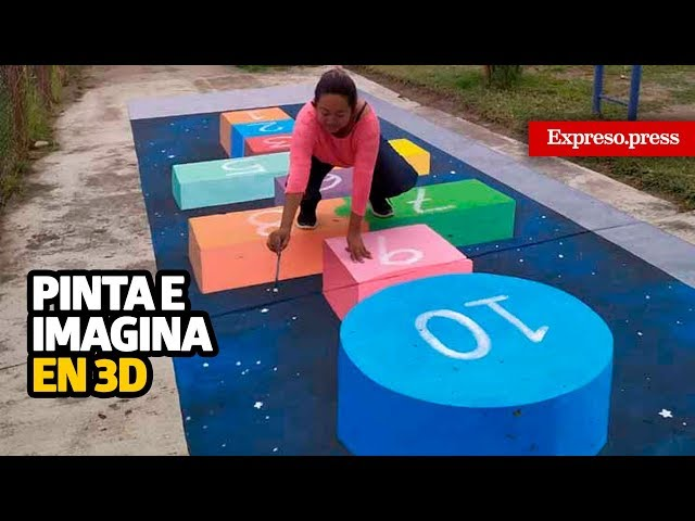 Pinta e imagina en 3D