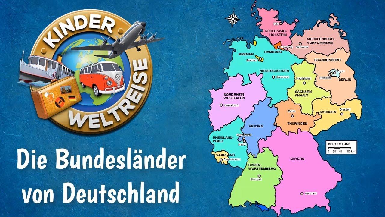Hauptstadt deutschland karte bundesländer Deutschland Bundesländer