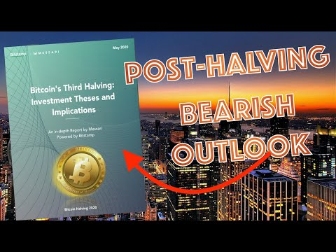 BE READY! New Report Uncovers NEGATIVE BITCOIN Post-Halving! UFC Into Crypto & You're EARLY!