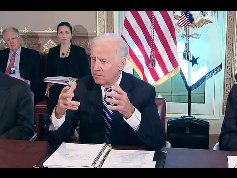Vice President Biden Meets with Sportsmen and Wildlife Interest Groups