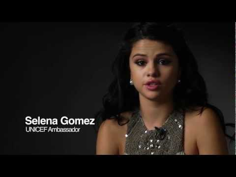 Selena Gomez urges help for children in West Africa