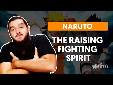 NARUTO - THE RAISING FIGHTING SPIRIT | Como Tocar Na Guitarra