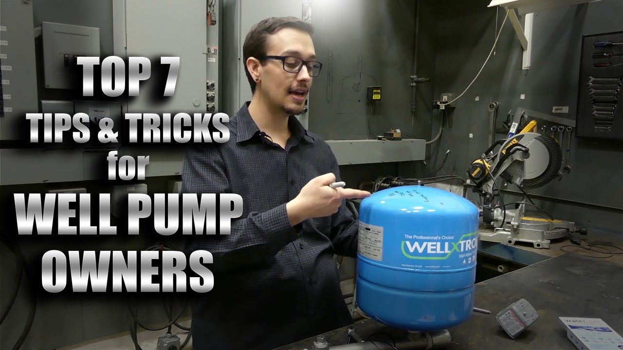 7 Things Every Well Pump Owner Should Know Youtube To Adjust Water Pressure Switch Cuton And