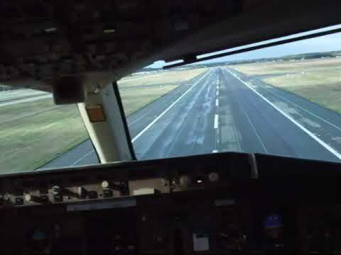 Missed approach at Toulouse from cockpit