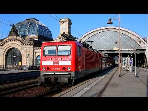 S-Bahn Dresden - letzte Hochburg der BR 143 in Sachsen - 01.03.2018