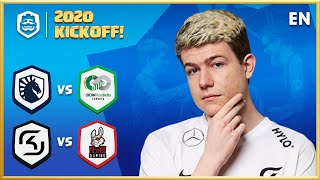 Clash Royale League: CRL West 2020 Spring | KICKOFF DAY 1! (English)