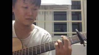 Dáng Em guitar solo [Mitxi Tòng]