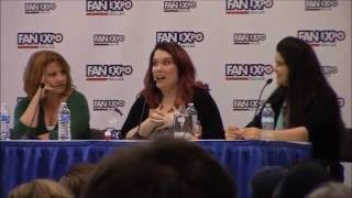 Fairy Tail Panel with Monica Rial, Colleen Clinkenbeard and Jamie Marchie at Fan Expo Dallas 2016