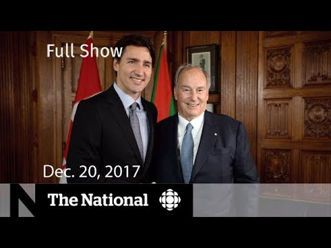 The National for Wednesday December 20, 2017 - Trudeau, Tax Bill, RCMP Shortage
