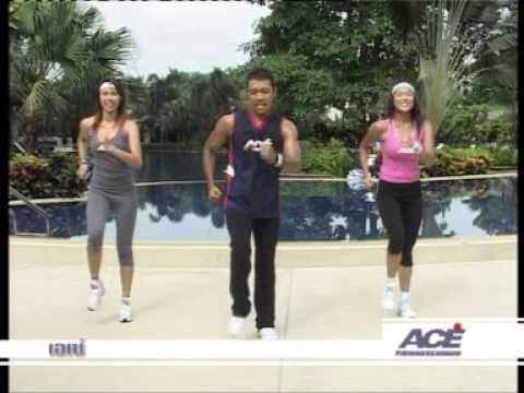 ออกกำลังกาย กับเอเซ่แอโรบิค Aerobic dance with ACE Aerobic