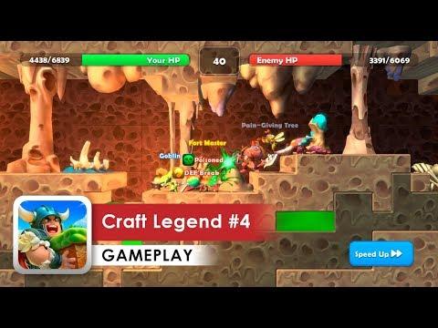 Craft Legend Walkthrough #4 HD (iOS & Android) Pet Battles