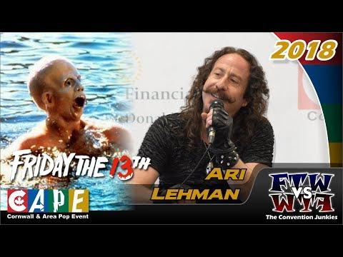 Ari Lehman Friday the 13th, First Jason CAPE 2018 Full Panel