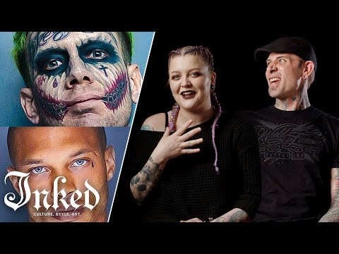 Tattoo Artists React To Mugshots | Tattoo Artists Answer