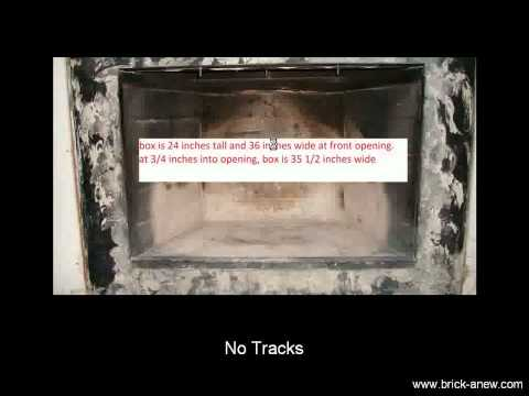 Prefab Fireplace Doors Installation: Avoid These Problems | Brick-Anew