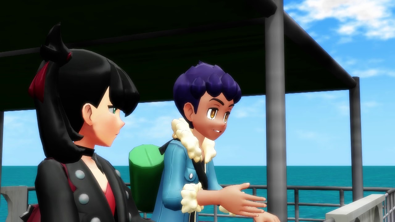 【Pokémon MMD】 Hop Teaches Marnie How To Fart (Bede, Hop, Victor and Marnie)