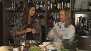 Surf Spa Food: Quinoa Macadamia & Pea Salad For Healthtalks Tv