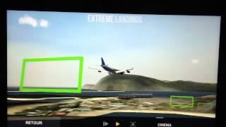 Atterrissage Extrême Landing avec un moteur qui a explosé