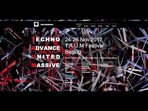 T.A.U.M Techno Music Festival,Beijing China
