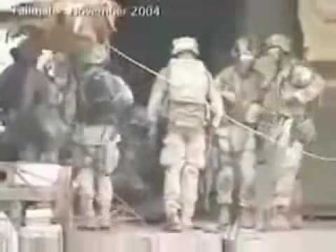 Raw Footage  Marines Engage Enemy during Operation Phantom Fury   Fallujah-Iraq, November 2004
