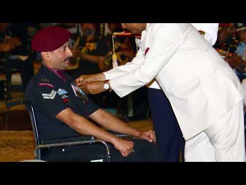 President of India Presents Gallantry Awards