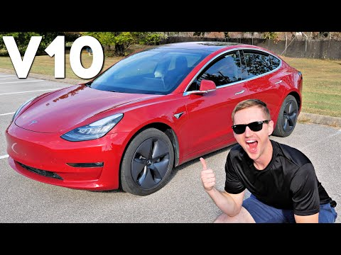 Tesla's BIGGEST Software Update Ever: V10 Review!