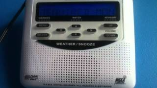 Weatheradio Canada - Required Monthly Test (EAS #38) 01/08/2012