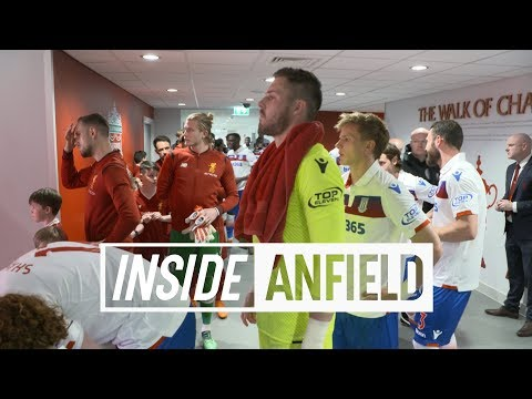 Inside Anfield: Liverpool V Stoke | EXCLUSIVE TUNNEL CAM