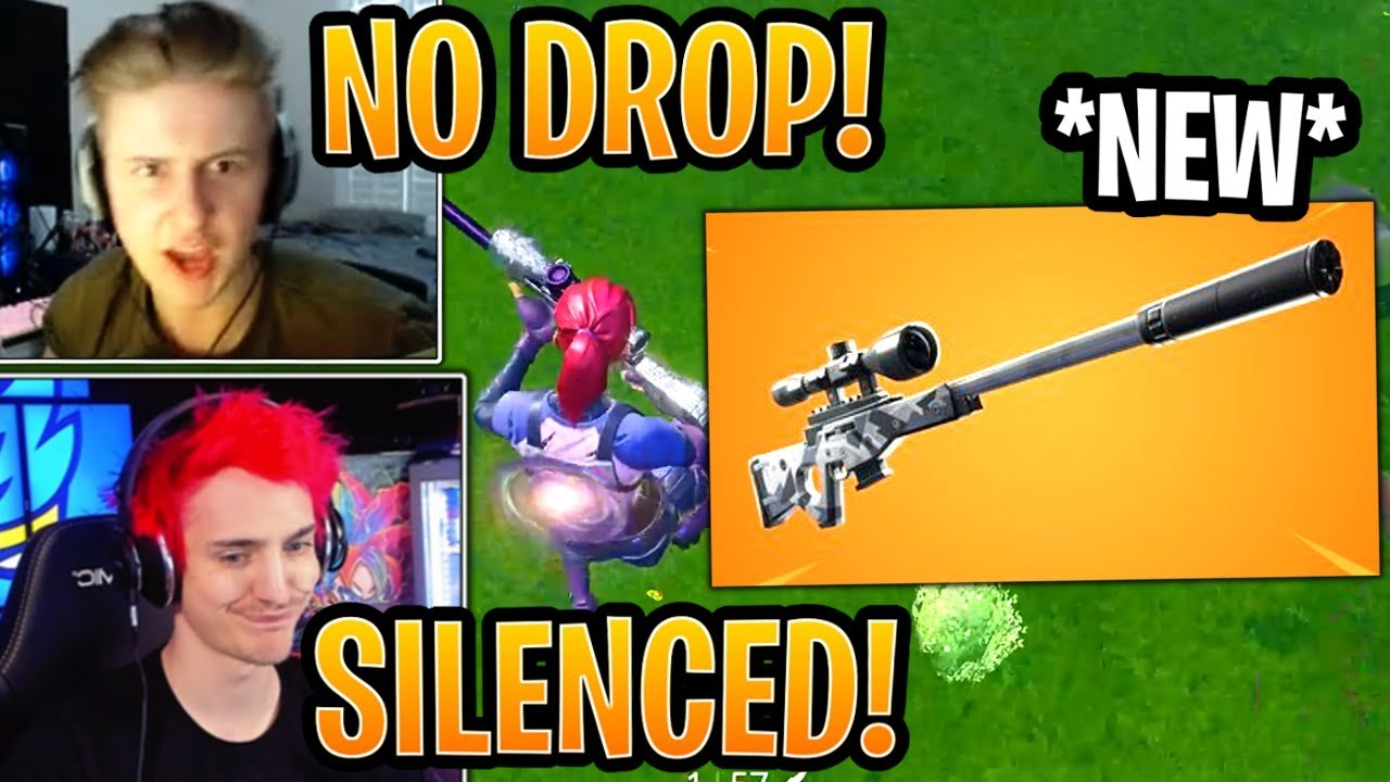 streamers-react-to-the-new-suppressed-sniper-rifle-confirmed-fortnite-best-and-funny-moments
