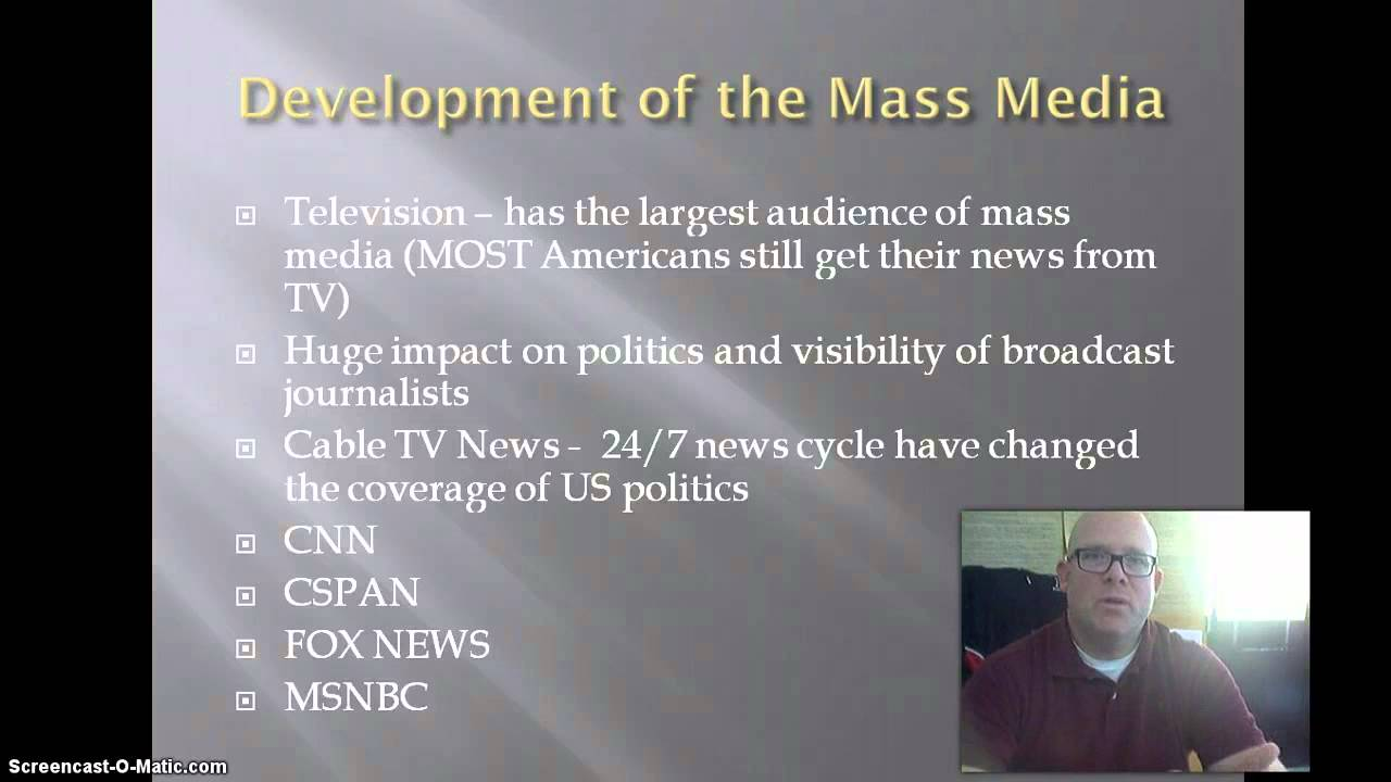 Chapter 7 Topic 1 Mass Media Youtube