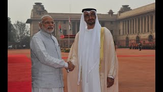 Ceremonial Reception of Crown Prince of Abu Dhabi - 25-01-17