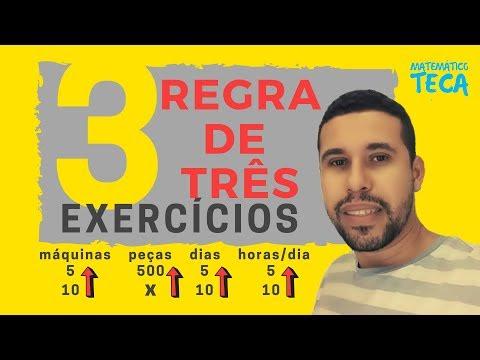 Regra de três | 3 Exercícios Resolvidos