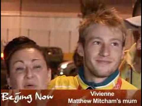 Interview with Matthew Mitcham after the gold medal