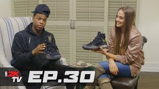 Kyle Lowry Shares On-the-Road Must-Haves! - NBA 2KTV S3. Ep.30