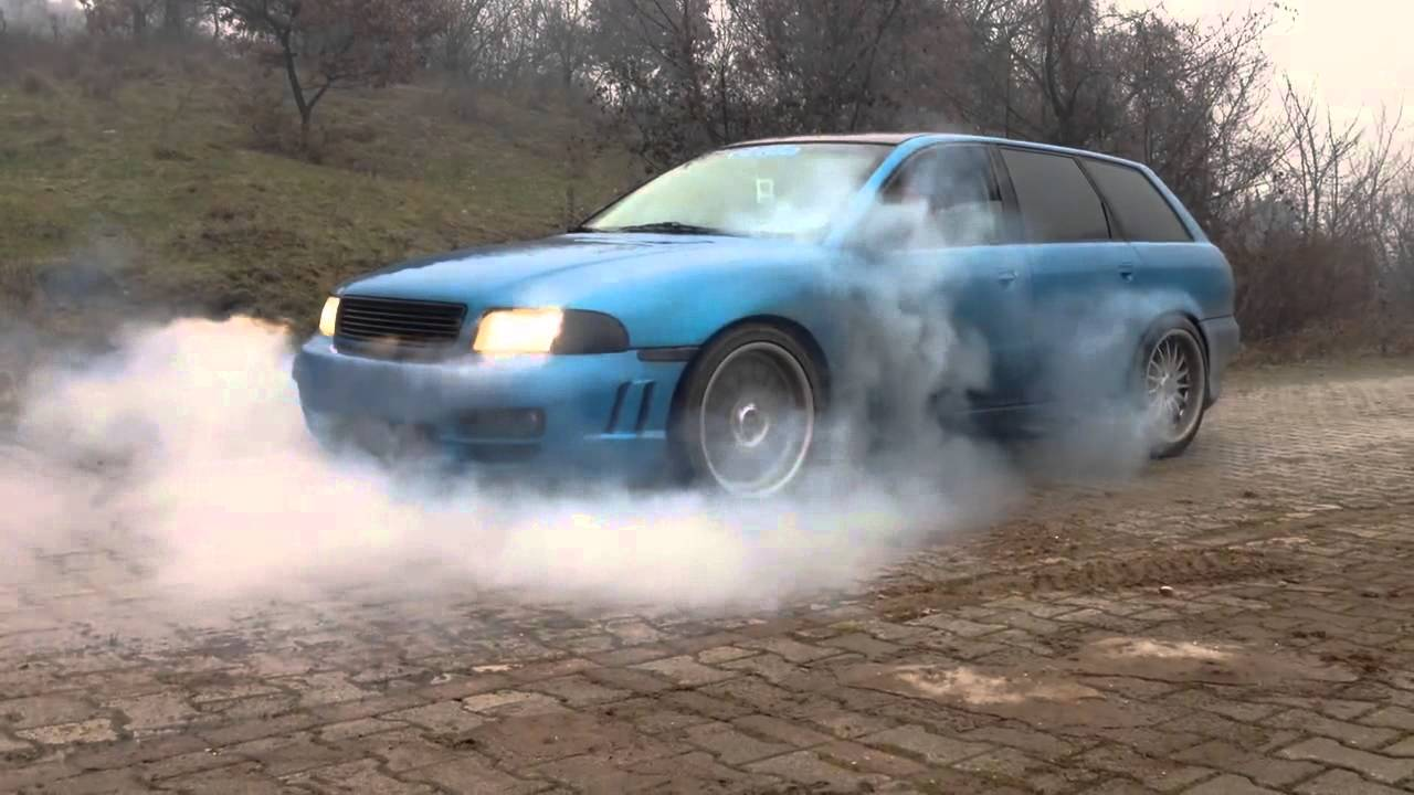 Audi A4 B5 Avant 1 8 Turbo Burnout Tetovo Macedonia