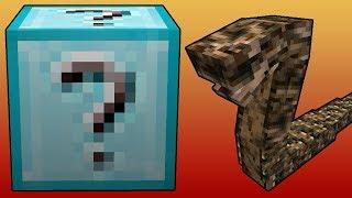 Minecraft Lucky Boss - Elmas Şans Blokları