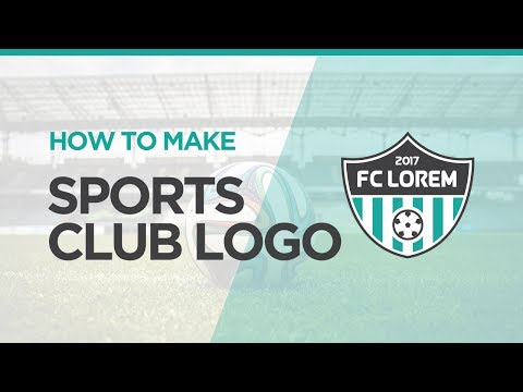 How To Make Sports Club Logo | Illustrator Tutorial
