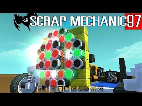 """Scrap Mechanic Maniacs 97 """"Sumo On Spinning Platform: The Setup"""" SEIZURE WARNING"""