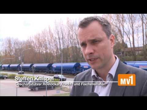 Rostocker Fracht- und Fischereihafen auf Wachstumskurs