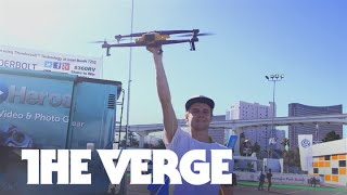 The Airdog drone follows you anywhere — CES 2015