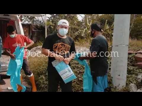 JATENGTIME - Pimred Jatengtime Bersama Paskuman Demak Lakukan Pemakaman Prokes