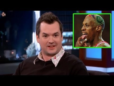 Jim Jefferies On Dennis Rodman Dating His Wife! SAVAGE Video!